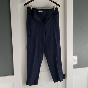 Never worn Blue Linen Dress pants